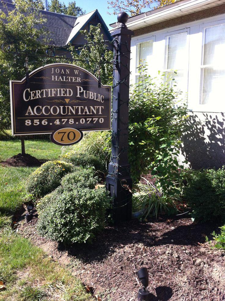 Joan W. Halter, CPA  winner best accountant in Gloucester county NJ 2013 70 North Main Street Mullica Hill, New Jersey 08062