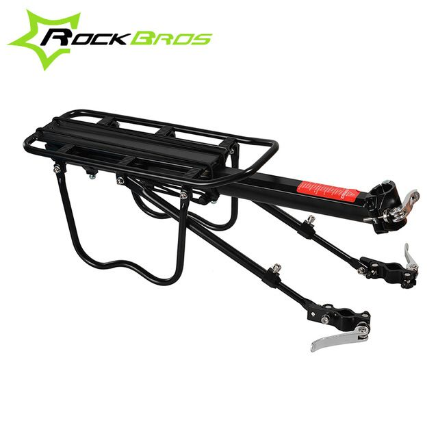 Check out this product on Alibaba.com APP ROCKBROS Bicycle Rear Rack Bicycle Travelling Luggage Carrier Quick Release Alloy Bike Rear Carrier Cycling Luggage Rack Black