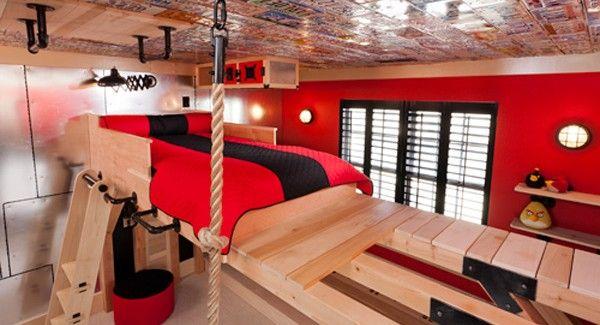 Fantasy Fairy Tale Bedroom Interior Designs For Kids