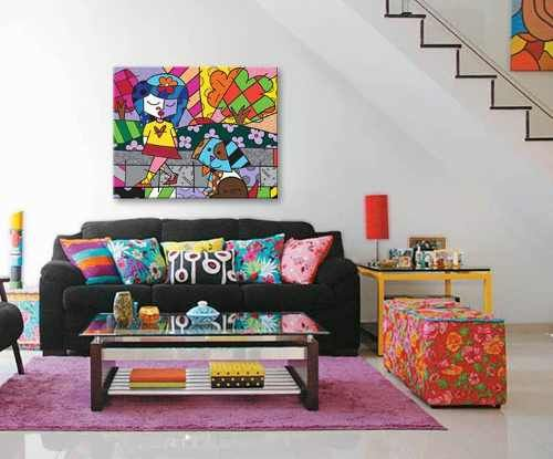 Cuadros Modernos Deco Pop Art, Romero Britto, Great Pals