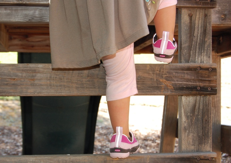 Our Dawson Slip on for Kids... helping those little feet up big stairs!