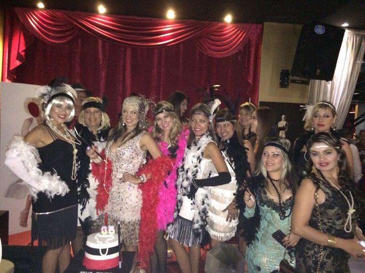 Cumpleaños gastby party años 20