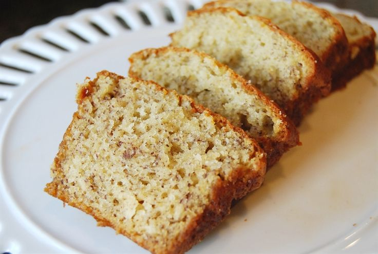 The Best Banana Bread Ever  - seriously!  Just read the comments on this one.