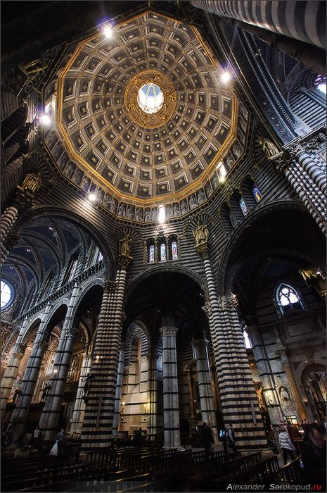 Siena cathedral 2 by Alexander Sorokopud, via 500px