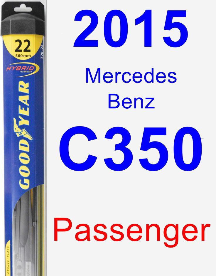 Passenger Wiper Blade for 2015 Mercedes-Benz C350 - Hybrid