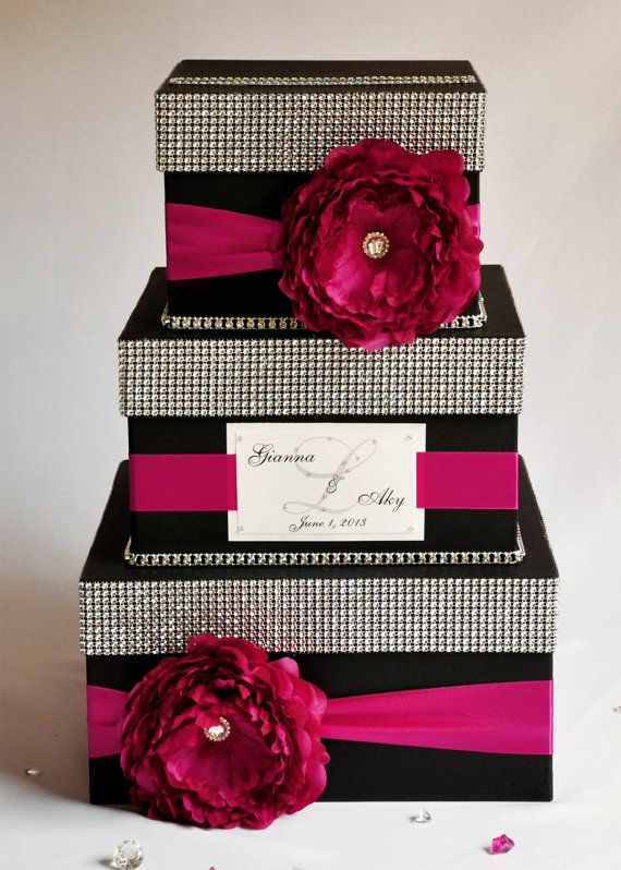 17 Best ideas about Wedding Boxes – Wedding Money Card Box