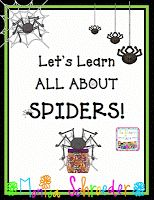 October, Halloween, and Spiders are my favorite season. This file packs a big nonfiction punch!