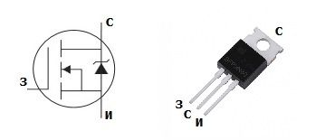 Параметры, цоколевка и аналоги транзистора IRL540 - Справочник по импортным MOSFET транзисторам - Справочник - RadioLibrary