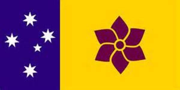 Flag of Queensland @