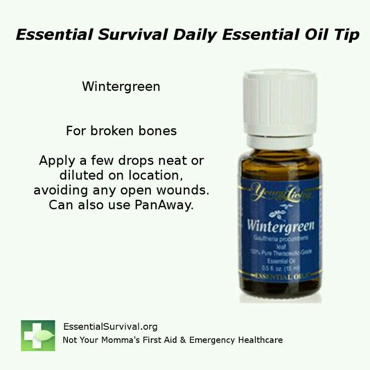 Image Result For Essential Oils For Broken Bones