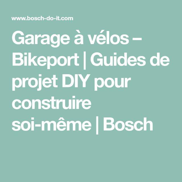 Garage à vélos – Bikeport | Guides de projet DIY pour construire soi-même | Bosch