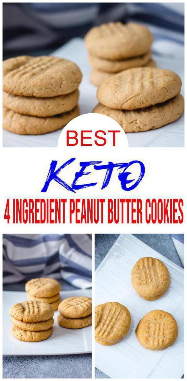 4 Ingredient Keto Cookies Best Low Carb Keto Peanut Butter Cookie Recipe Easy No Sugar Gluten Free Today Pin Keto Peanut Butter Cookies Keto Snacks Easy Cookies Recipes Easy Peanut Butter