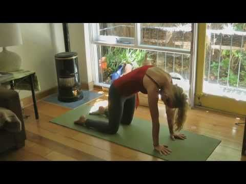 ▶ YOGA for BACK PAIN & CURVATURE of the MIDDLE SPINE with YogaYin - YouTube