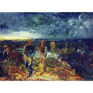 Jack Yeats painting Men of Destiny, 1946 © Estate of Jack B Yeats. All Rights Reserved, DACS 2013