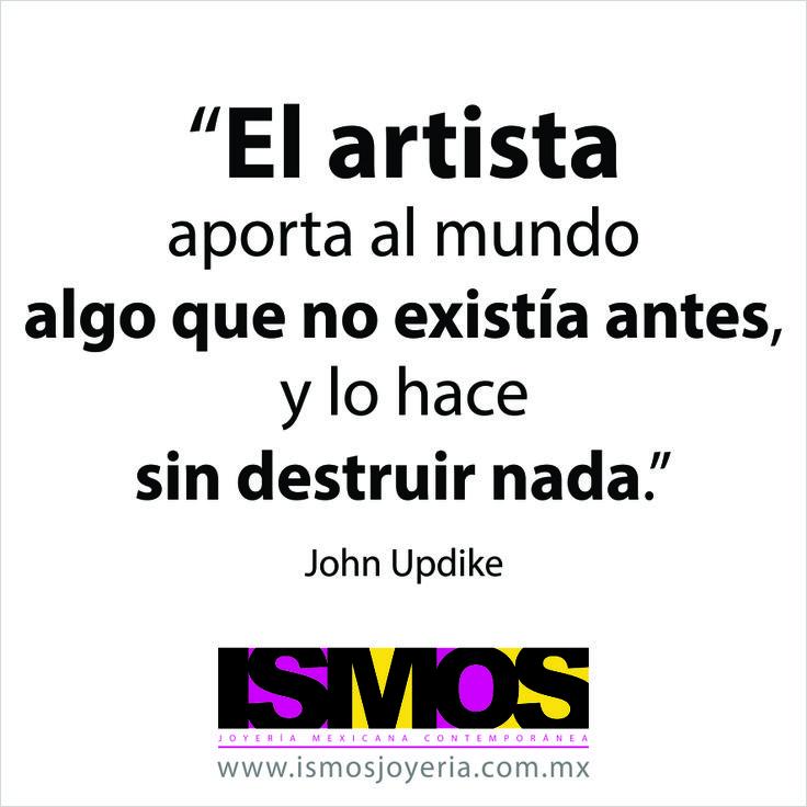 John Updike hablando sobre los artistas // ISMOS Joyería