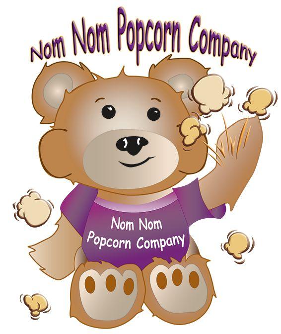 Nom Nom Popcorn Company helps support Dogs 4 Warriors Inc.  Delicious gourmet popcorn!!!