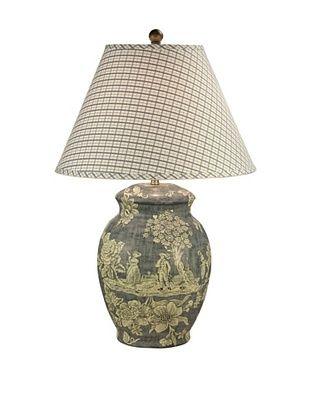 57% OFF Dessau Home Porcelain Table Lamp (Blue)