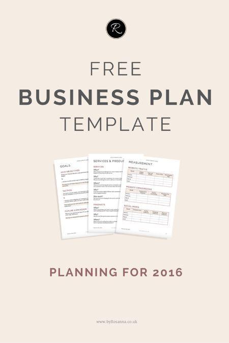 Best 20+ Business plan template ideas on Pinterest