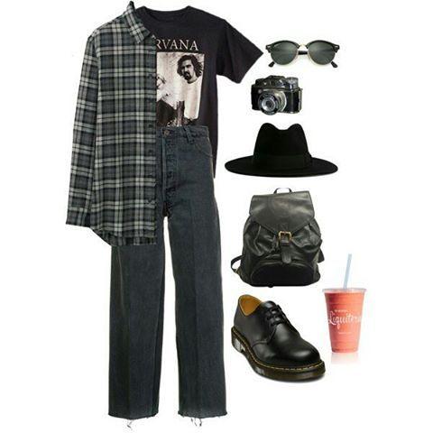 """1,439 Me gusta, 5 comentarios - Alternative outfits (@grungelookbooks) en Instagram: """"Vintage look. …"""""""