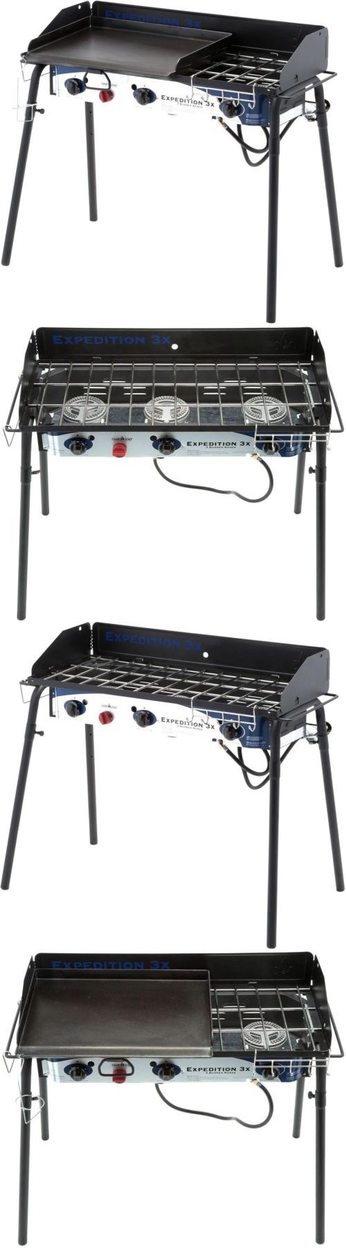 camping bbqs and grills 181388 3 burner propane gas grill black griddle 90000 - Outdoor Kuche Kaufen