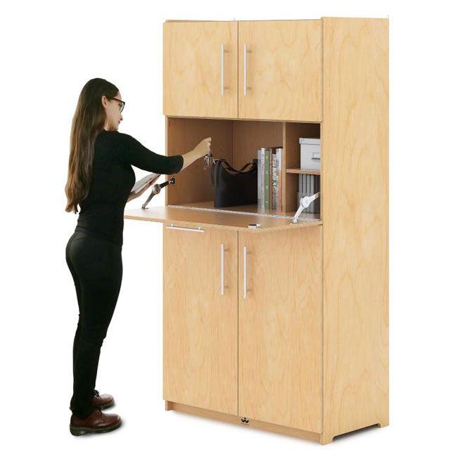 Teacher S Work Station Storage Cabinet