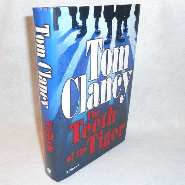 The Teeth of the Tiger by Tom Clancy Novel Jack Ryan Jr Book 1st Edition #TomClancy