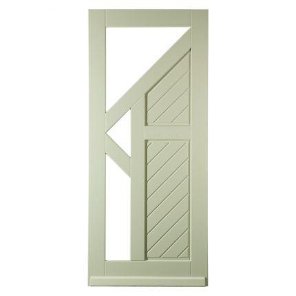 BD730 voordeur met glas-/paneel. Een strak design dat als geen ander thuis hoort in een moderne woning!