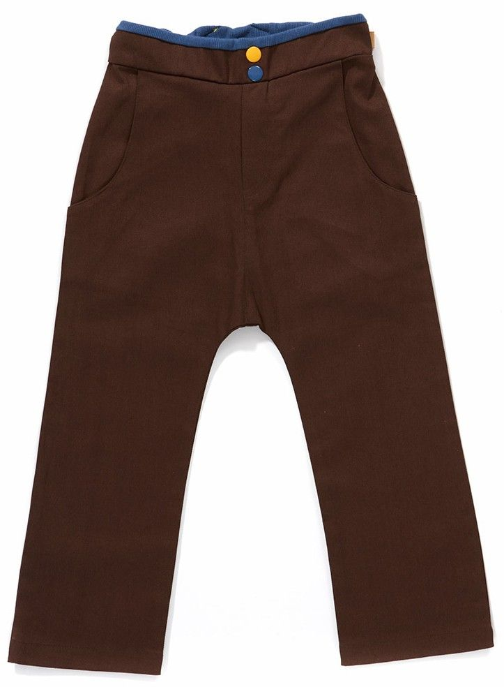 Bruine 'Dune Pants' - Albababy