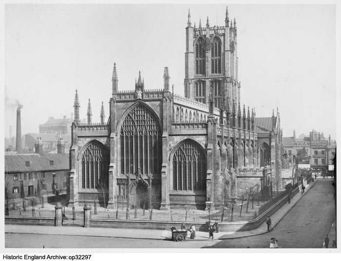 OP32297 Holy Trinity Church, Hull viewed from the west. Please click for more information or to search our collections.
