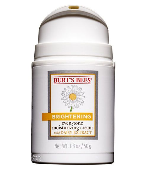 """Burt's Bees Brightening Even-Tone Moisturizing Cream ($20; Amazon.com) is made with daisy extract, which helps minimize pesky age spots. Reader Results: """"It felt featherlight and woke up my skin, making my face appear more radiant."""" —Loura Christensen, Gilbert, AZ   - Redbook.com"""