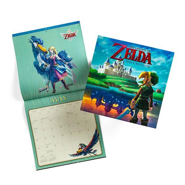 Legend of Zelda 2016 Wall Calendar $8.41