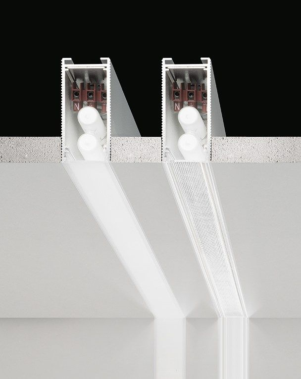 Einbau- LED Lichtleiste aus Aluminium strangpresst CHELSEA by PANZERI