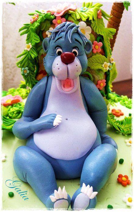 Jungle book Cake by Galia Hristova #provestra