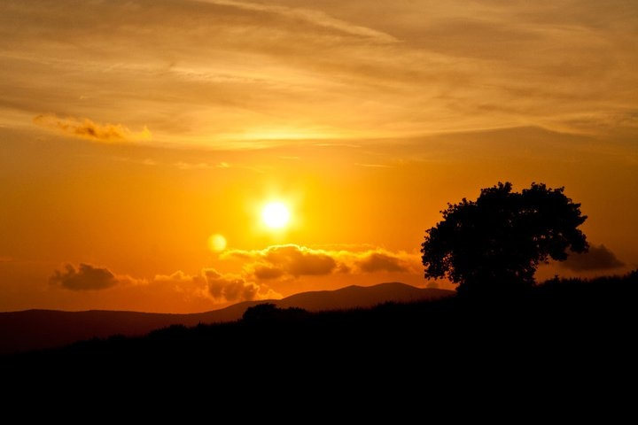 Sunset from Montiano, #maremma, #tuscany, #italy. Picture by Andrea Giacomelli