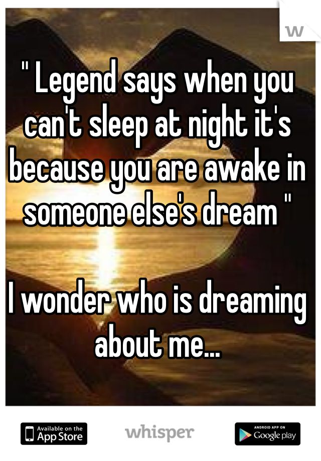 Dream about dating someone else