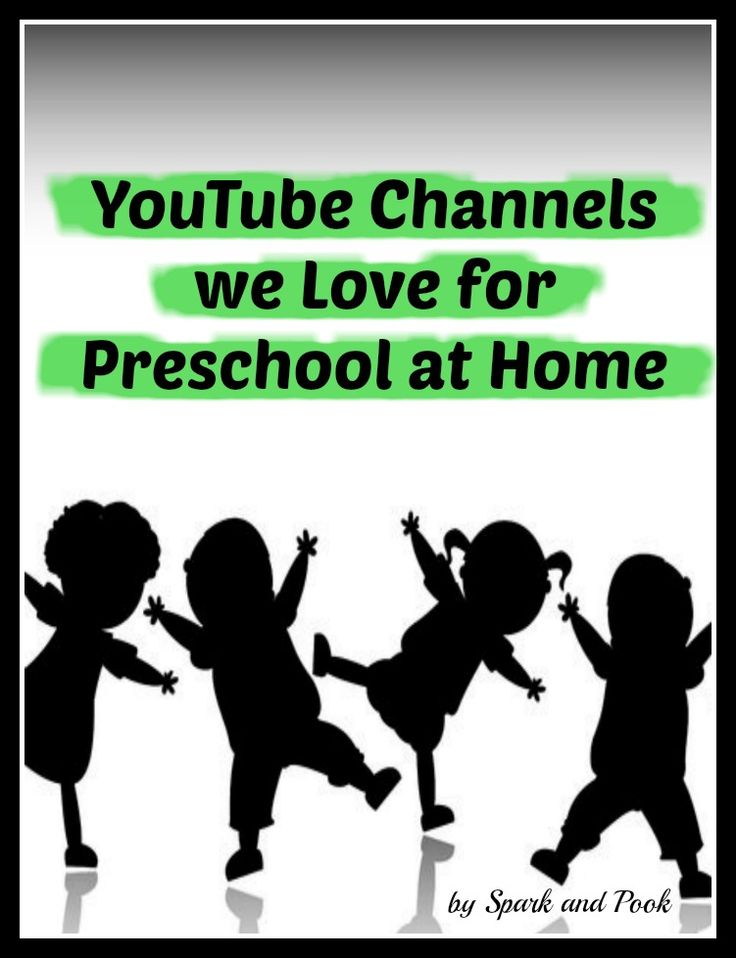 educational YouTube channels for Preschoolers