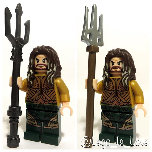 Which trident for Aquaman (Comic and movie versions)? A (Left) or B (Right)?                                 ...
