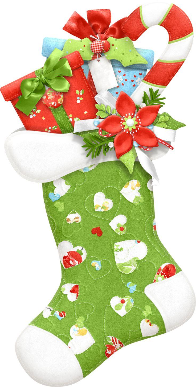Ho ho holiday printouts to color - Christmas Stocking Colored Image