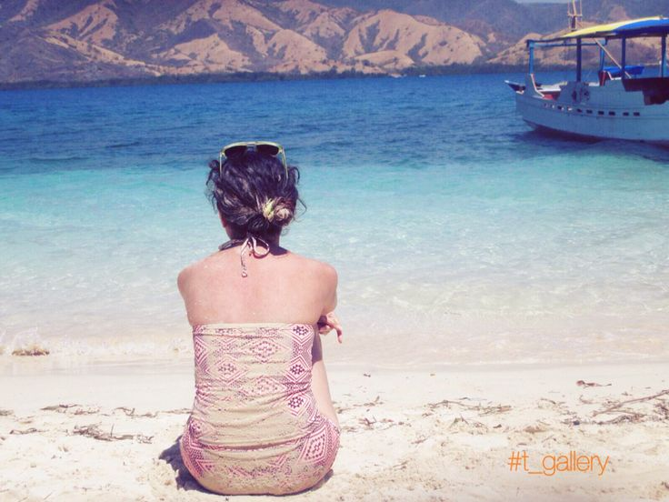 Spend quality time with myself.,  Location : Three islands - Riung - NTT - Indonesia