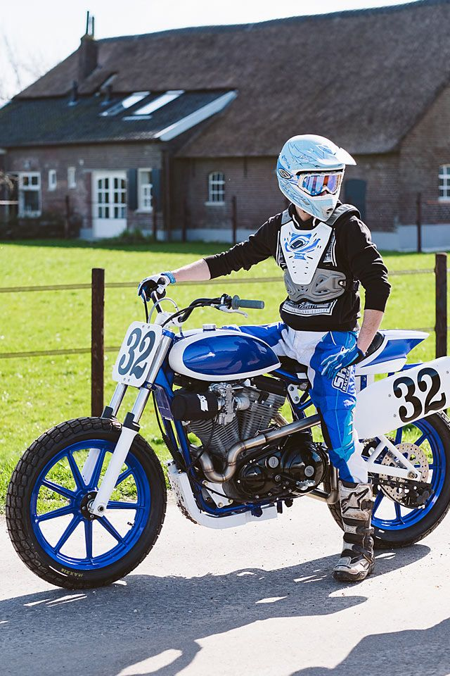 Harley's original XR750s are the stuff of legend. With a winning streak that started in 1972 and is still being felt in flat tracking today, many argue that it's the world's most winningest motorcycle. Which is a pretty amazingclaimto fame, when you think about it. The Netherland's Bart Verstijnen knew he could build his own XR750 if he really put his mind to it. And once you see the...