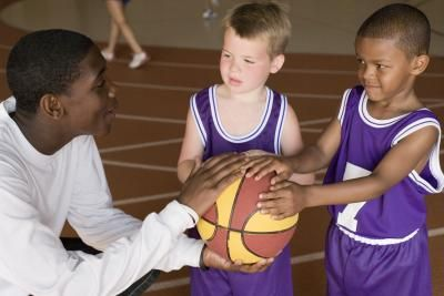Basketball Games for Four-Year-Olds