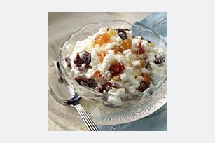 Cottage cheese, fresh/dried fruits, tsp honey... great snack, especially for a sweet craving!