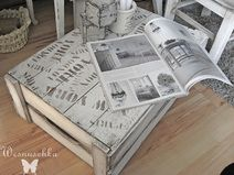 holzkiste als tisch shabby chic upcycling pinterest. Black Bedroom Furniture Sets. Home Design Ideas