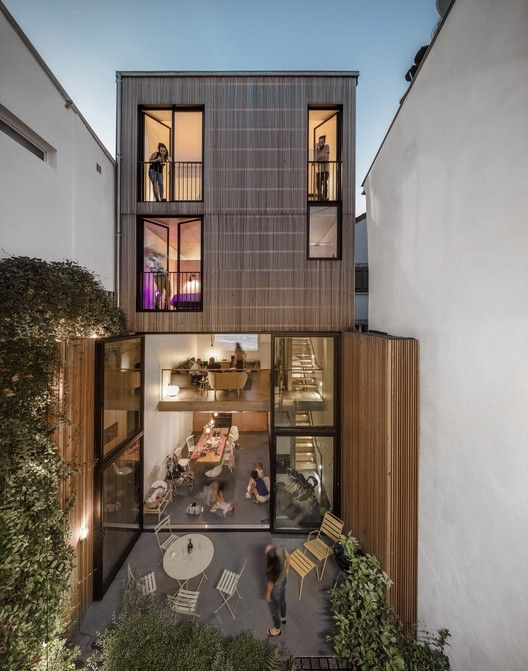 Les Tiennes Marcel / Mohamed Omaïs & Olivia Gomes architects   ArchDaily