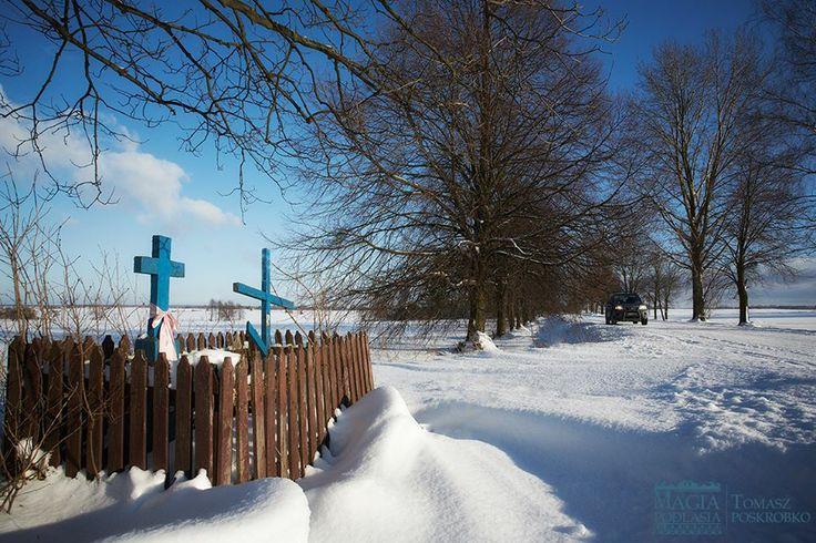 Na Podlasiu zima w pełni fot. Tomasz Poskrobko / Magia Podlasia