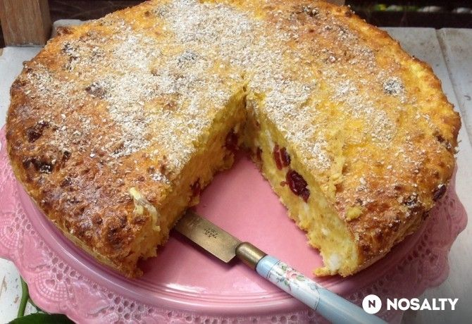 Túrós zabpelyhes süti liszt,cukor nélkül