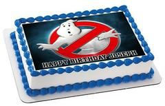 Ghostbusters 4 Edible Birthday Cake Topper OR Cupcake Topper, Decor #edibleprintsoncake, #ediblecaketopper, #ediblecakeimage,