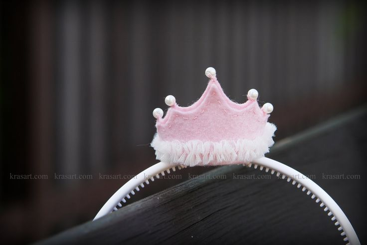 diy hair accessories mini felted crown tutorial