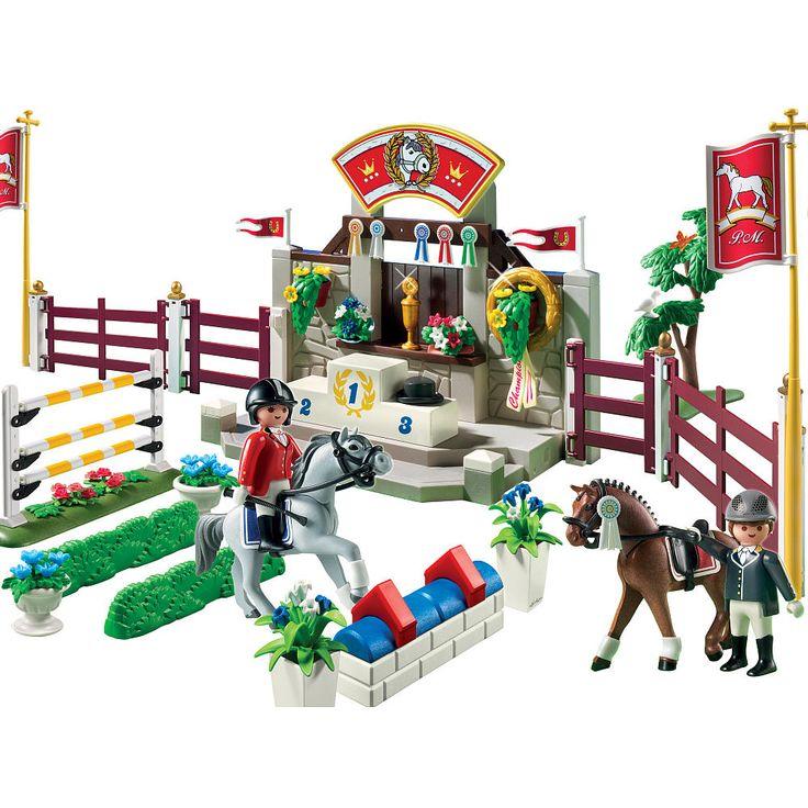 82 best playmobil images on pinterest playmobil toys for Playmobil pferde set