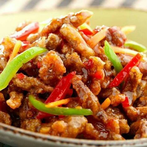Slimming World Crispy Shredded Chicken Made this loads of times!! It's deeeeeelicious!! :)